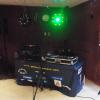 My DJ Table & Lighting Effects